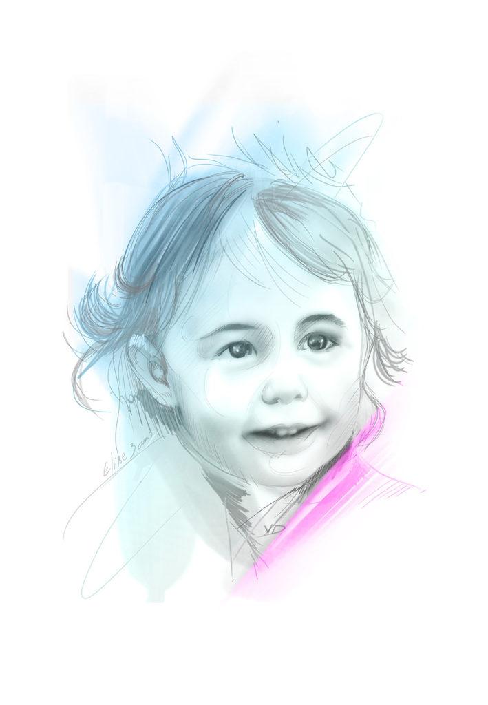 portrait Elise en 2014 - 3 ans - durisotti - vivien - design - experience - durisotti vivien