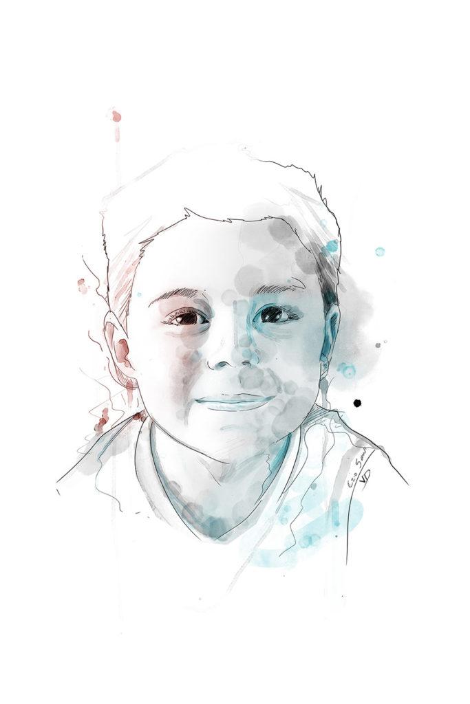 portrait Ezio en 2019 - 5 ans - portrait - 2010 - durisotti - vivien - design - experience - durisotti vivien