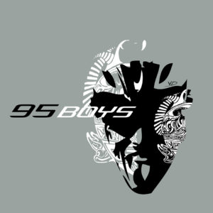 95 boys - recherches - graphisme - logo - ton - illustrator - sketch - roughs - vivien - durisotti - fritsch-durisotti