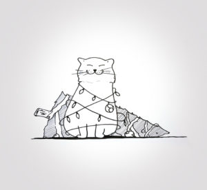 11 décembre 2019 - Chapka de Noel - dessin - vivien - durisotti - design - experience - un - jour - un - dessin