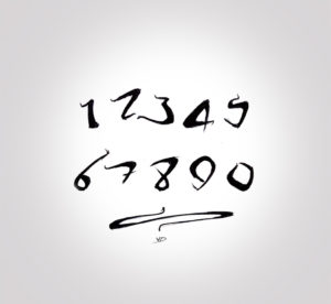 24 sept 2019 - exercice calligraphie - dessin - vivien - durisotti - design - experience - un - jour - un - dessin
