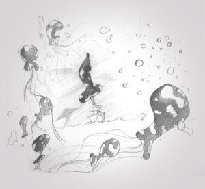 29 août 2019 - bulles 2 - dessin - vivien - durisotti - design - experience - un - jour - un - dessin