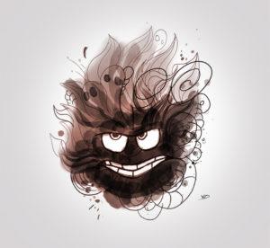 08 octobre 2019 - très en colère !!! - dessin - vivien - durisotti - design - experience - un - jour - un - dessin