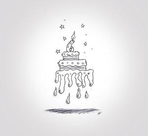 jeudi 26 décembre - joyeux anniversaire mon titi - dessin - vivien - durisotti - design - experience - un - jour - un - dessin