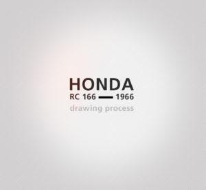 Honda RC 166 - 2019 - design process - sketch - vivien -durisotti - design - experience