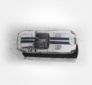 Le mans classic - 2019 - sketch - stylos - vivien - durisotti - design - experience