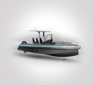 Iguana yacht - sketch - 2019 - recherches - stylos - feutres - pantones - vivien - durisotti - design - experience