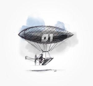 03 janvier 2020 - attention décollage- dessin - vivien - durisotti - design - experience - un - jour - un - dessin