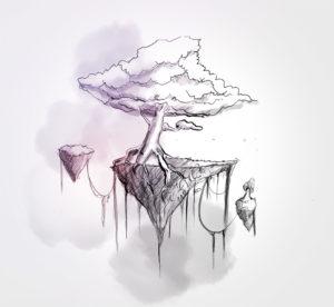 07 juillet -floating island - dessin - vivien - durisotti - design - experience - un - jour - un - dessin