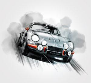 08 janvier 2021 - Alpine-A110-1600S-1971 - durisotti - design - experience - un - jour - un - dessin - dessin - vivien - durisotti - design - experience - un - jour - un - dessin