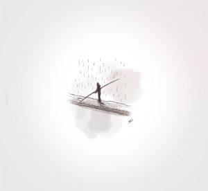 17 janvier 2021 - équilibre précaire - durisotti - design - experience - un - jour - un - dessin - dessin - vivien - durisotti - design - experience - un - jour - un - dessin