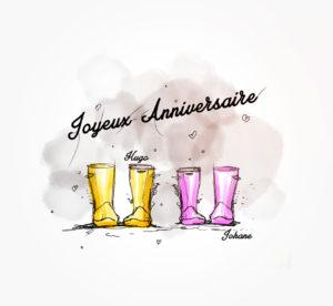 06 février 2021 - Joyeux anniversaire les loulous - durisotti - design - experience - un - jour - un - dessin - dessin - vivien - durisotti - design - experience - un - jour - un - dessin