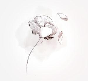 27 mars 2021 - fleur !!! - durisotti - design - experience - un - jour - un - dessin - dessin - vivien - durisotti - design - experience - un - jour - un - dessin