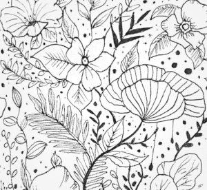 28 mars 2021 - fleur !!! - durisotti - design - experience - un - jour - un - dessin - dessin - vivien - durisotti - design - experience - un - jour - un - dessin