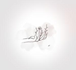 22 mai 2021 - Jardin entre deux gouttes !!! - durisotti - design - experience - un - jour - un - dessin - dessin - vivien - durisotti - design - experience - un - jour - un - dessin