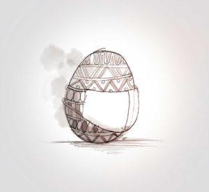 12 avril 2020 - 25 ème jour - joyeuse Pâques - dessin - vivien - durisotti - design - experience - dessin - vivien - durisotti - design - experience