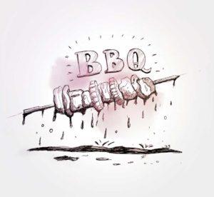 19 avril 2020 - 33 ème jour - first BBQ - dessin - vivien - durisotti - design - experience