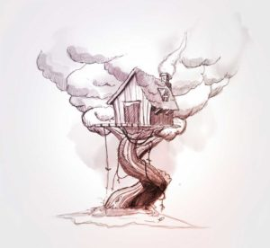7 mai - cabane - vivien - durisotti - dessin - sketch - design -experience