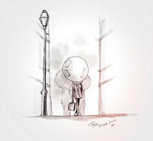 11 - mai - 2020 - de confinement - dessin - sketch - vivien - durisotti