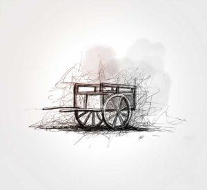 18 juin - Charrette - dessin - vivien - durisotti - design - experience - un - jour - un - dessin
