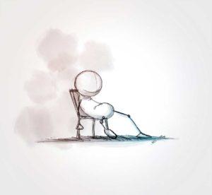 29 juin - Fatigué - dessin - vivien - durisotti - design - experience - un - jour - un - dessin