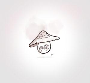 25 juillet 2021 - mushroom 5 !!! - durisotti - design - experience - un - jour - un - dessin - dessin - vivien - durisotti - design - experience - un - jour - un - dessin