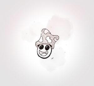 28 juillet 2021 - mushroom 8 !!! - durisotti - design - experience - un - jour - un - dessin - dessin - vivien - durisotti - design - experience - un - jour - un - dessin