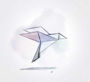 6 septembre - Origami - dessin - vivien - durisotti - design - experience - un - jour - un - dessin - dessin - vivien - durisotti - design - experience - un - jour - un - dessin