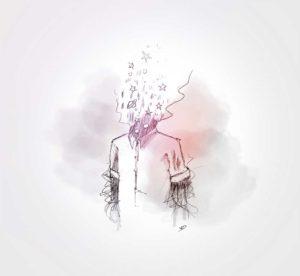 24 septembre - la tête dans les étoiles - dessin - vivien - durisotti - design - experience - un - jour - un - dessin - dessin - vivien - durisotti - design - experience - un - jour - un - dessin