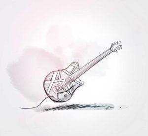 07 octobre - au revoir Mr Van Halen- 1955 -2020 - dessin - vivien - durisotti - design - experience - un - jour - un - dessin - dessin - vivien - durisotti - design - experience - un - jour - un - dessin