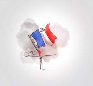 16 octobre - drame à Conflans mort de samuel paty- dessin - vivien - durisotti - design - experience - un - jour - un - dessin - dessin - vivien - durisotti - design - experience - un - jour - un - dessin