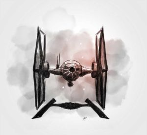 25 octobre - journée Star Wars - dessin - vivien - durisotti - design - experience - un - jour - un - dessin - dessin - vivien - durisotti - design - experience - un - jour - un - dessin