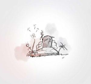 14 Novembre - triste anniversaire - dessin - vivien - durisotti - design - experience - un - jour - un - dessin - dessin - vivien - durisotti - design - experience - un - jour - un - dessin