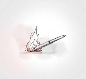 27 Novembre - ça chauffe - vivien - durisotti - design - experience - un - jour - un - dessin - dessin - vivien - durisotti - design - experience - un - jour - un - dessin