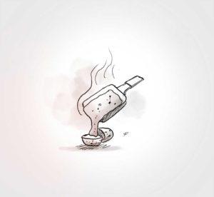 29 Novembre - raclette en famille - vivien - durisotti - design - experience - un - jour - un - dessin - dessin - vivien - durisotti - design - experience - un - jour - un - dessin