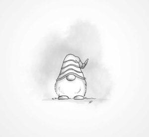 24 décembre - Joyeux Noel - vivien - durisotti - design - experience - un - jour - un - dessin - dessin - vivien - durisotti - design - experience - un - jour - un - dessin