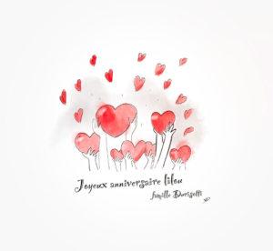 28 février 2021 - joyeux anniversaire Lilou - durisotti - design - experience - un - jour - un - dessin - dessin - vivien - durisotti - design - experience - un - jour - un - dessin