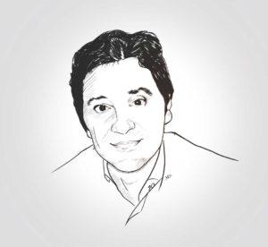 6 avril 2020 - 20 ème jour - Portrait de Karim - la team au complet - dessin - vivien - durisotti - design - experience - dessin - vivien - durisotti - design - experience