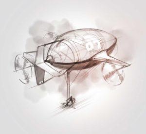 10 avril 2020 - 24 ème jour - vol N°7 - dessin - vivien - durisotti - design - experience - dessin - vivien - durisotti - design - experience
