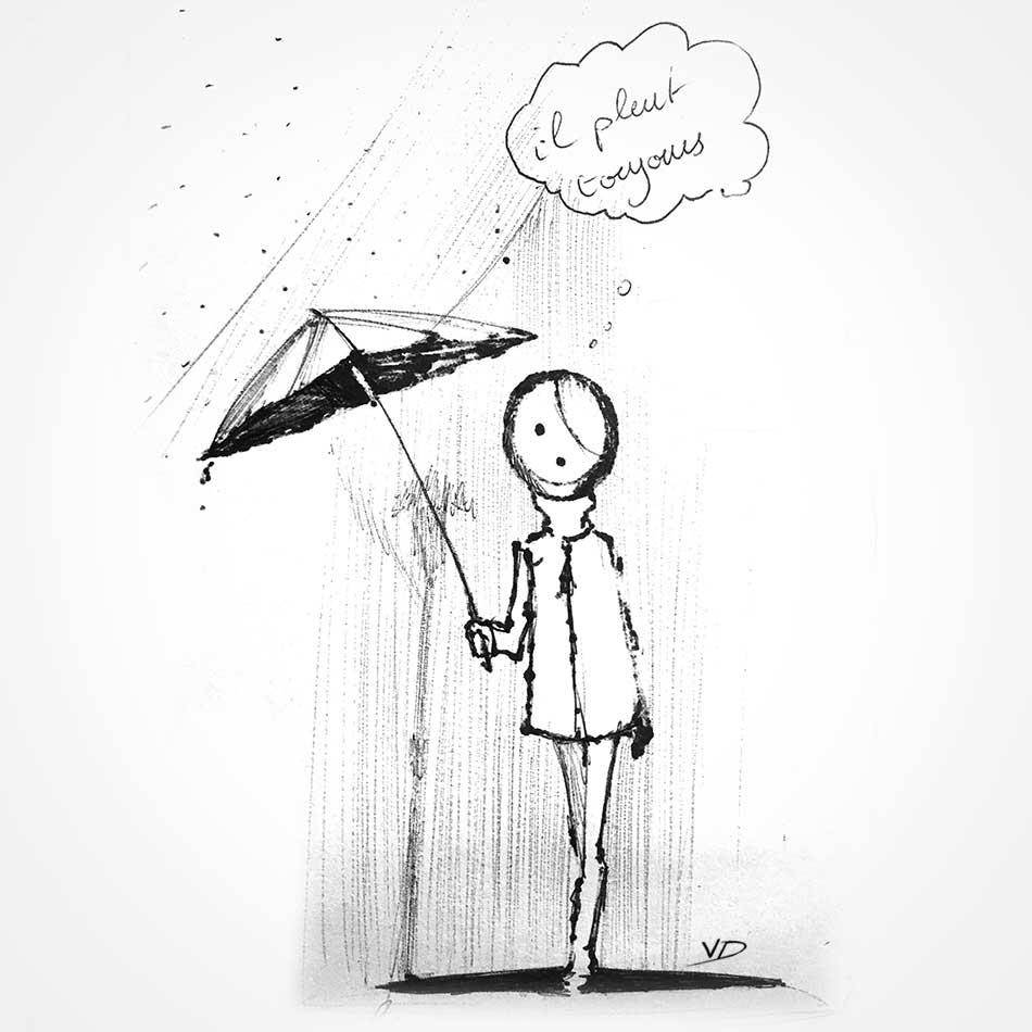 illustration - feutre - dessins - bic - vivien - durisotti - design - experience
