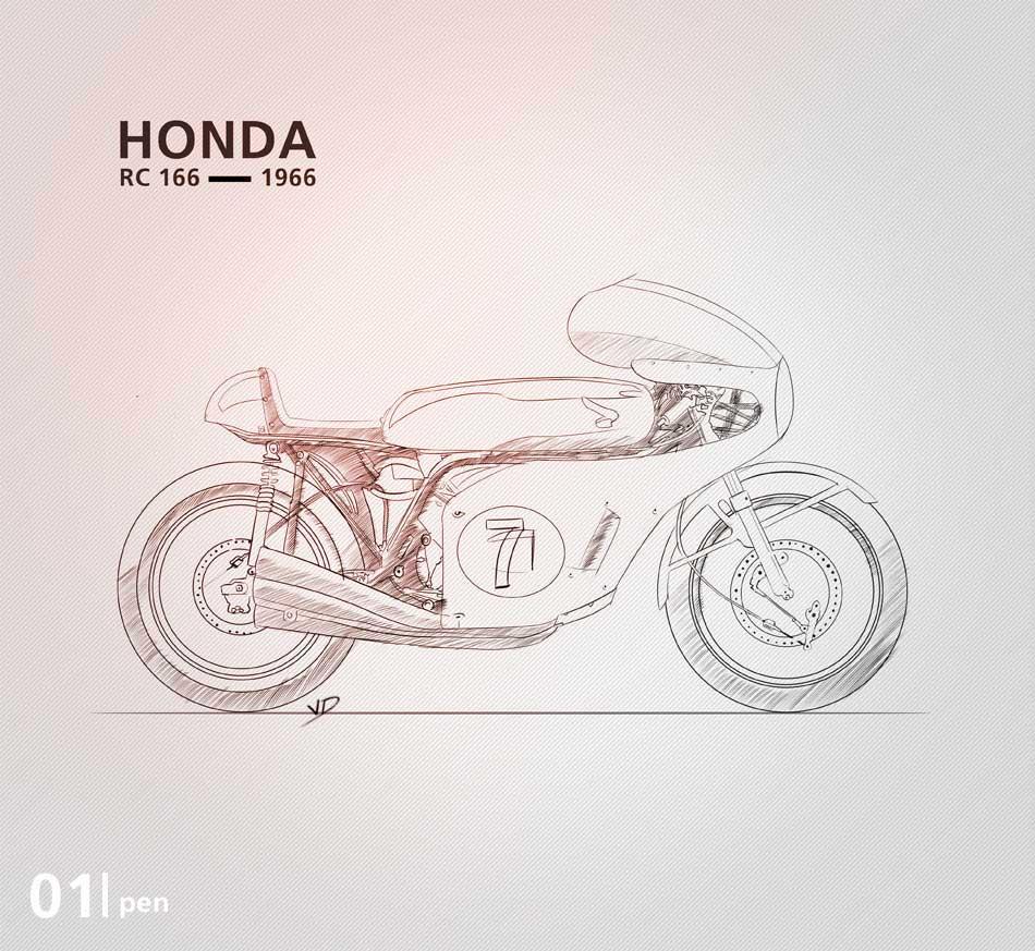 Honda RC 166 - 2019