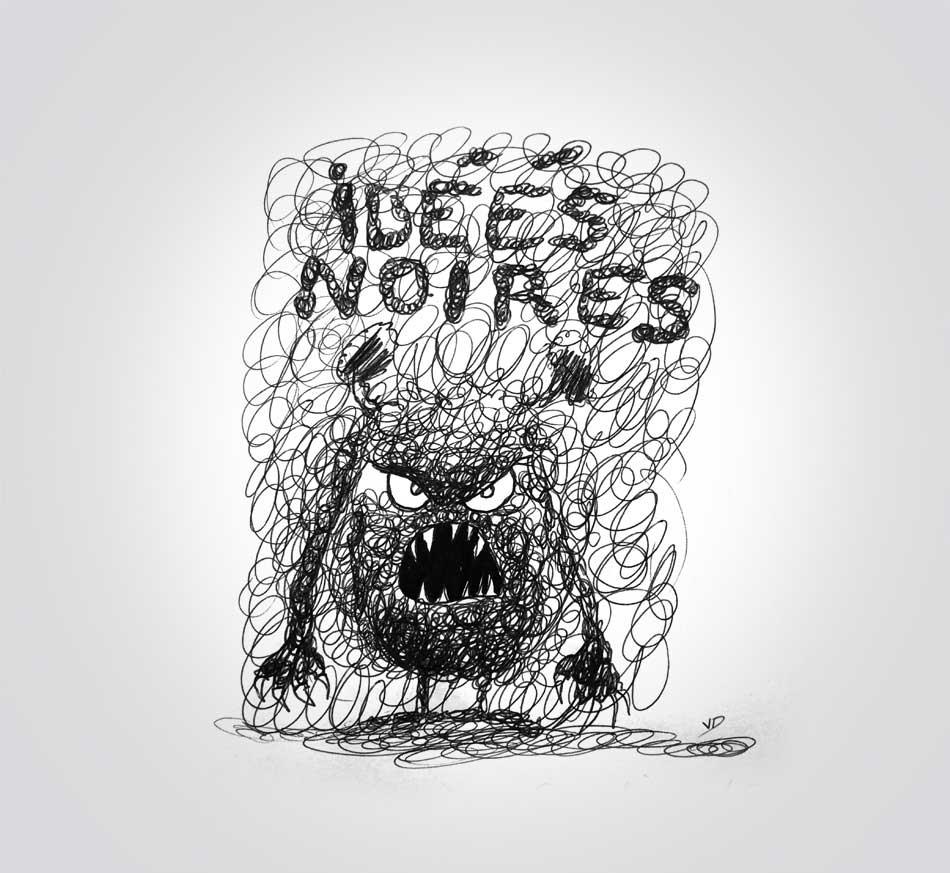 samedi 21 décembre - idées noires - dessin - vivien - durisotti - design - experience - un - jour - un - dessin