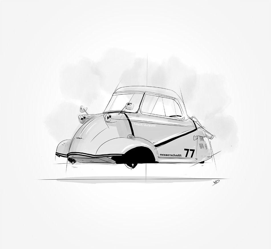 Messerschmitt KR 175/200 – 1950