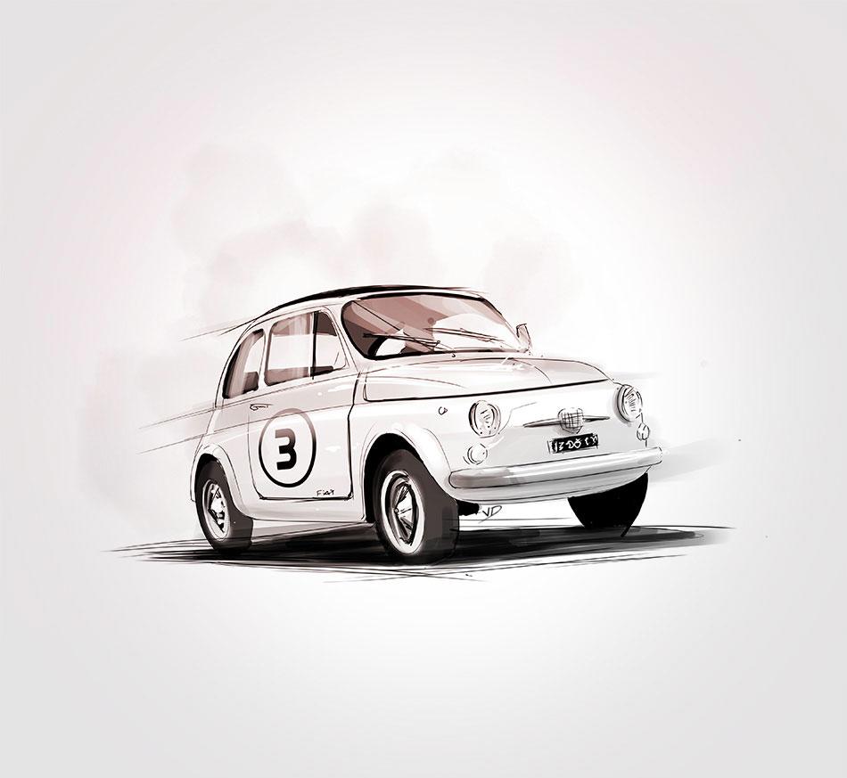 20 juillet 2021 - Fiat 500 - 1957 - durisotti - design - experience - un - jour - un - dessin - dessin - vivien - durisotti - design - experience - un - jour - un - dessin