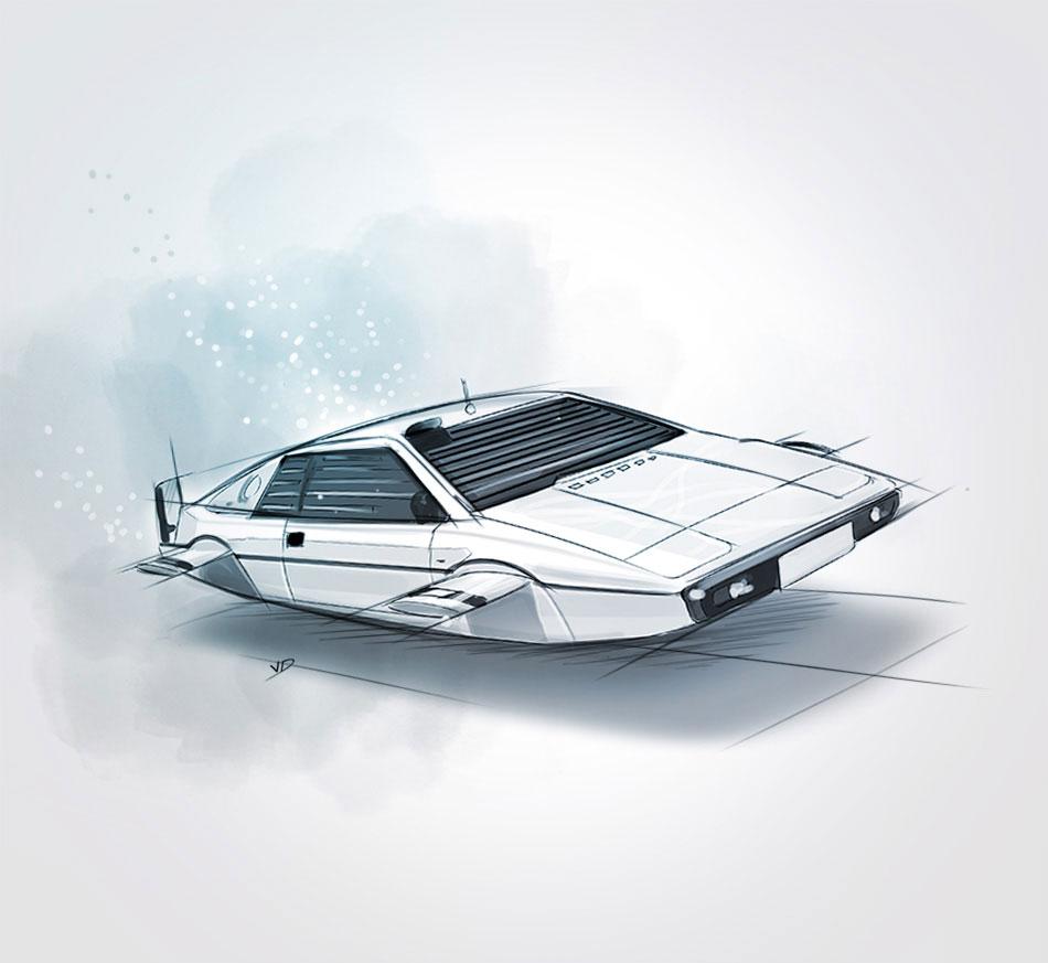 """Lotus Esprit S1 """"Wet Nellie"""" - 1980"""