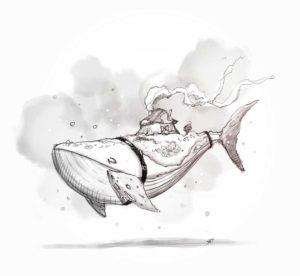 1 avril 2020 - 15 ème jour - poisson d'avril - dessin - vivien - durisotti - design - experience - dessin - vivien - durisotti - design - experience