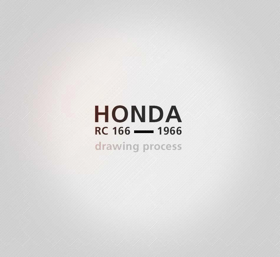 Honda RC 166 - 2019 - design process