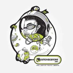 Cosmovacances - recherches - graphisme - logo - ton - illustrator - sketch - roughs - vivien - durisotti - fritsch-durisotti
